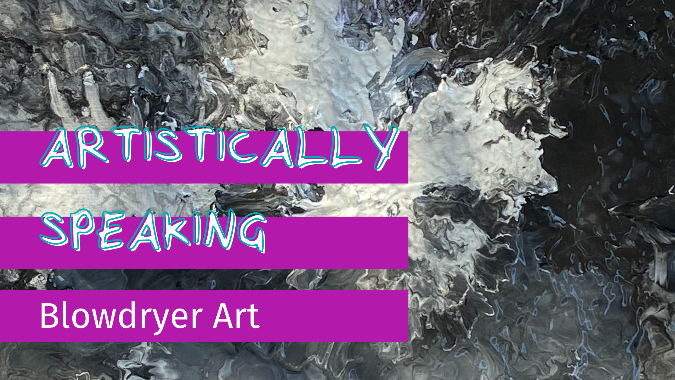 Artistically Speaking | What can we paint with?